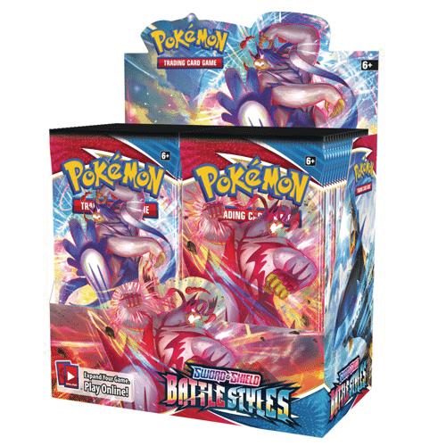 battle styles booster box