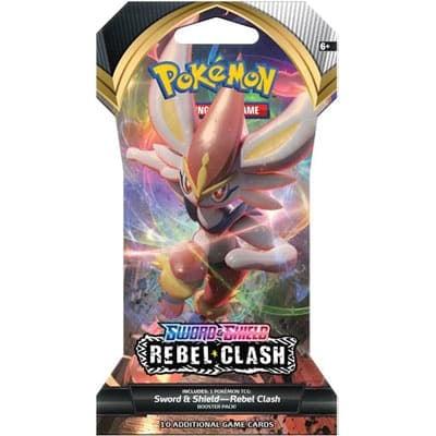 pokemon sword shield rebel clash sleeved booster