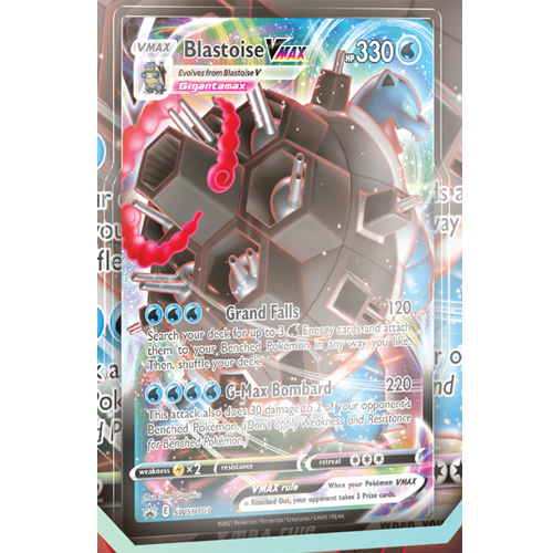 blastoise V MAX card