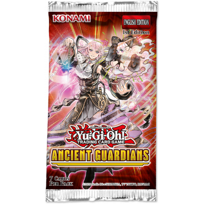 yugioh ancient guardians booster pack