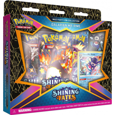shining fates pin collection mr rime