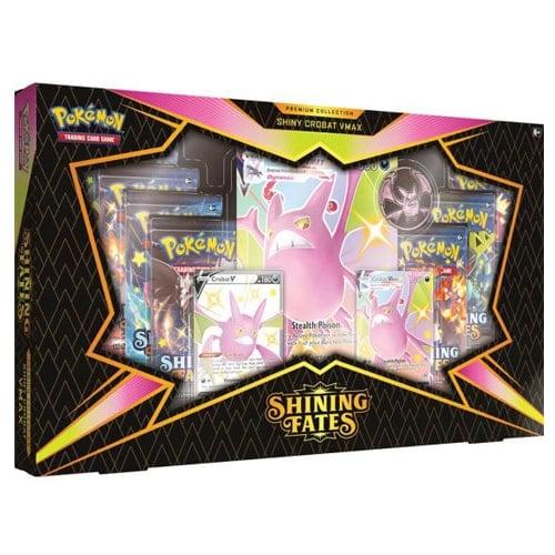 pokemon shining fates premium collection box shiny crobat vmax
