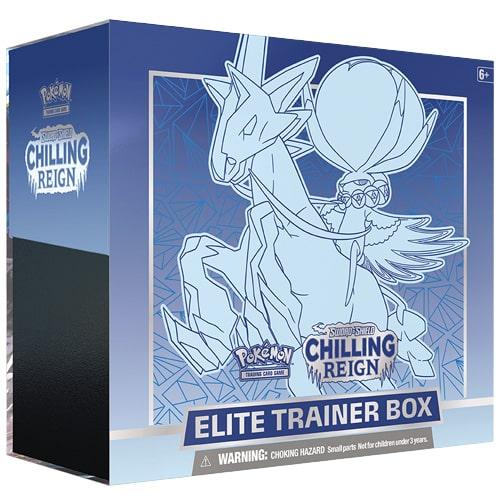 Pokemon Chilling Reign ETB Elite Trainer Box
