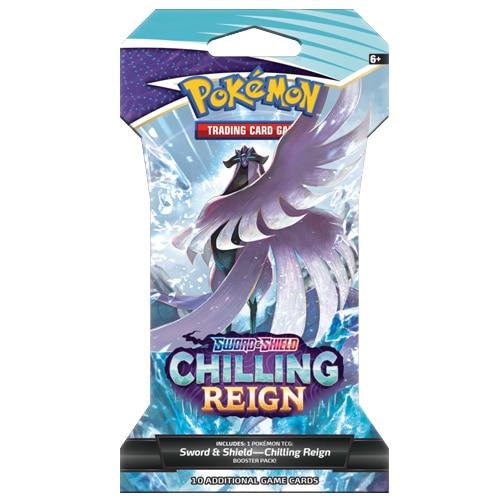 pokemon chilling reign sleeved booster pack