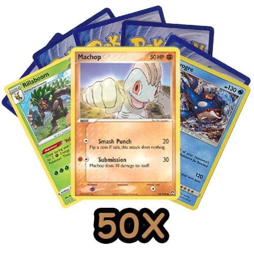 pokemon kaarten kopen 50x bundel