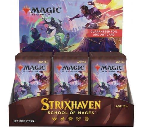 MTG - Strixhaven: School of Mages Set Booster Display (30 Packs)
