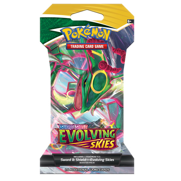 evolving skies booster rayquaza