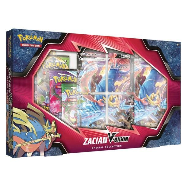 Zacian V union pokemon box