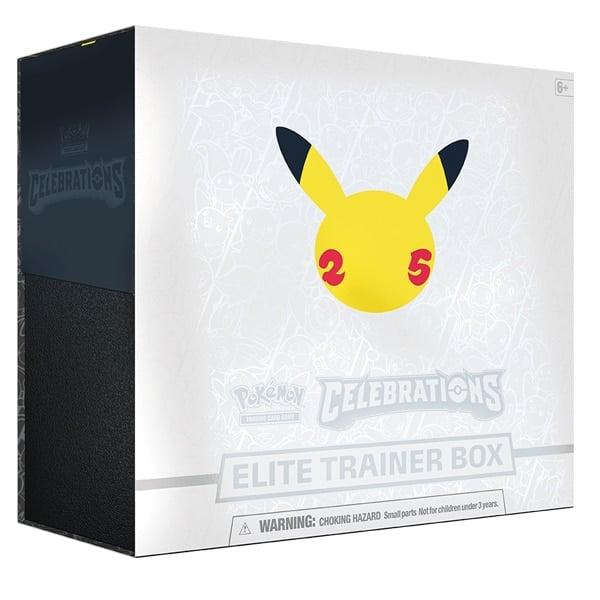 pokemon celebrations elite trainer box 25th anniversary